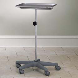 Mobile 5-leg Instrument Stand, Nylon Composite Base