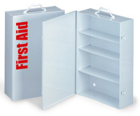 First Aid Only<sup>®</sup> 4-shelf Metal Industrial Cabinet without Supplies
