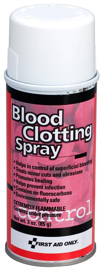 First Aid Only<sup>®</sup> Blood Clotting Aerosol Spray, 3oz Spray Bottle