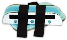 Morrison VEL Cardboard Splints