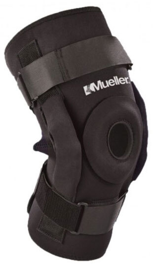 Mueller<sup>®</sup> Hinged Wraparound Knee Brace