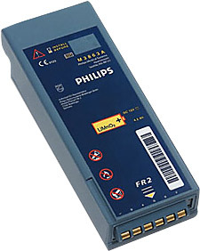 Philips FR2 Long-life LiMnO2 Disposable Battery for FR2/FR2+ AED