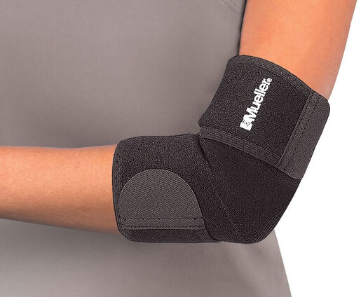 Mueller<sup>®</sup> Elbow Support, Neoprene Blend, Black