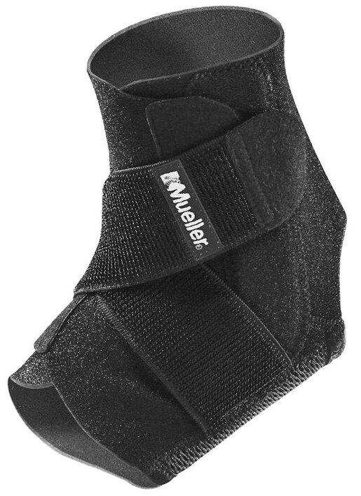 Mueller<sup>®</sup> Adjustable Ankle Support, Black