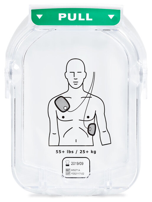 Philips HeartStart OnSite Smart Pads Cartridge, Adult