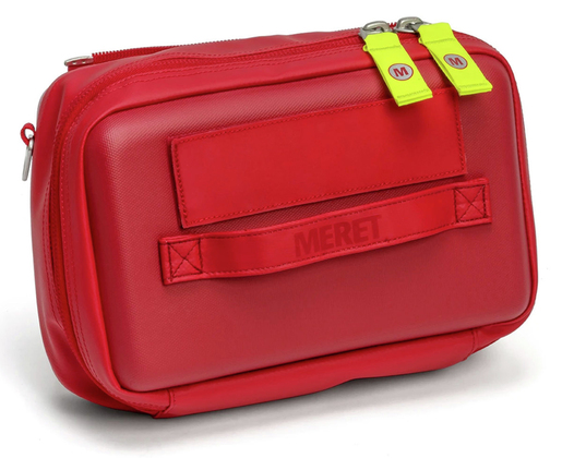Meret MedKit Pro X Complete Infection Control Medications Module (TS2 Ready<sup>™</sup>), Case Only, Red