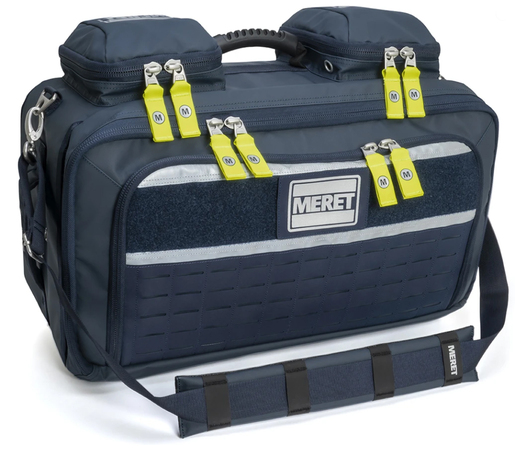 Meret OMNI<sup>™</sup> PRO X Complete Infection Control BLS/ALS Total System Module (TS2 Ready<sup>™</sup>), Case Only, Navy Blue