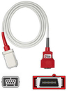 Masimo SpO2 Patient Cable, Red, 20-pin, 4'