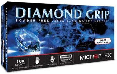 Microflex<sup>®</sup> Diamond Grip<sup>™</sup> Powder-free Examination Gloves