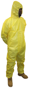 ProChem<sup>®</sup> Coverall with Hood, Yellow, XX-Large