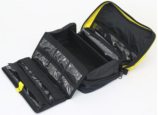 Conterra MedPro<sup>™</sup> Medications Kit, Black with Reflective Yellow Strips, Case Only