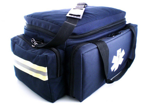 MedSource Large Padded Trauma Bag, Navy