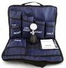 MedSource Blood Pressure Kits, 3 Cuffs, Navy Blue