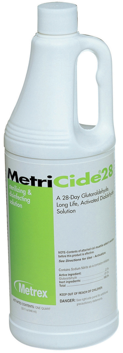 Metrex<sup>™</sup> MetriCide 28-day Sterilizing Solution
