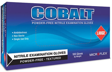 COBALT<sup>®</sup> Nitrile Exam Gloves