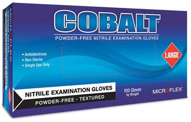 COBALT<sup>®</sup> Nitrile Exam Gloves, X-Large