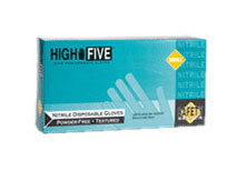 HIGH FIVE<sup>®</sup> Nitrile Disposable Powder-free Glove, Blue