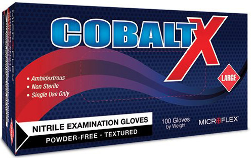 COBALT<sup>®</sup> X Nitrile Exam Gloves