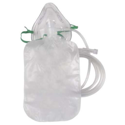 High Concentration Oxygen Mask, Pediatric