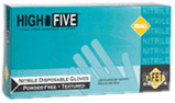 HIGH FIVE<sup>®</sup> Nitrile Powder-free X-Long Glove, Teal