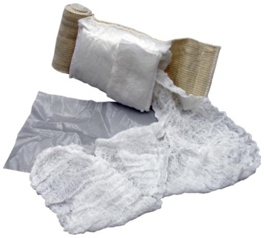"""TacMed OLAES<sup>®</sup> Modular Bandage, Flat-packed, 4"""""""