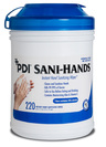 PDI Sani-Hands<sup>®</sup> Instant Hand Sanitizing Wipes, 220/tub