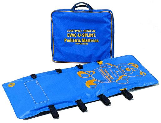 Hartwell EVAC-U-SPLINT<sup>®</sup> Mattress with Case, Pediatric
