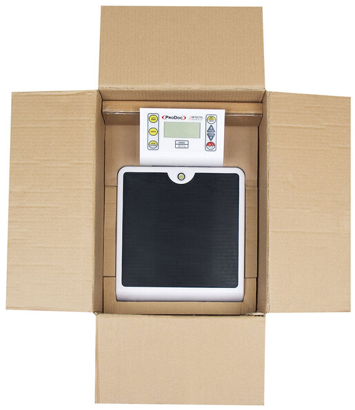 Detecto Space-saving Digital Scale with BMI, Model PD200
