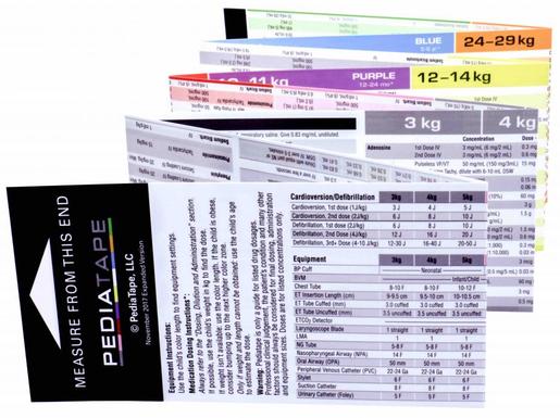 PediaTape Pediatric Emergency Tape