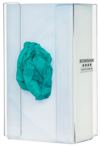 BOWMAN<sup>&reg;</sup> Plexiglass Glove Dispenser, Single-box Holder