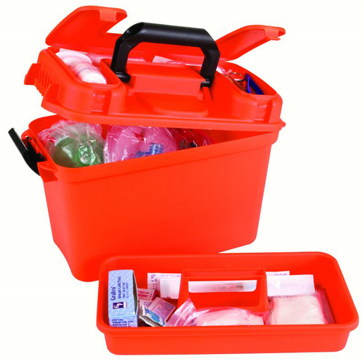 Flambeau<sup>®</sup> Paramedic Gear Box, Orange