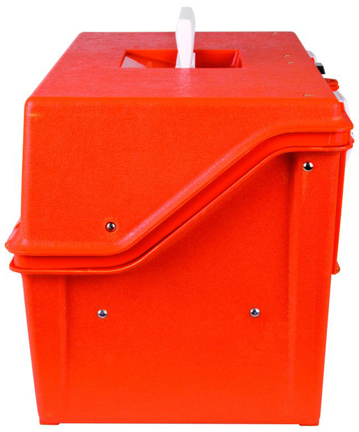 Flambeau<sup>®</sup> 2-drawer Compartment Box, 8-14 Compartments, Orange