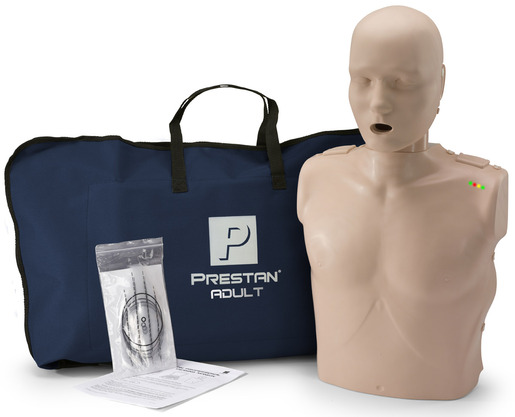 Prestan<sup>®</sup> Professional Adult CPR Training Manikin with CPR Monitor, Medium Skin, Single Manikin