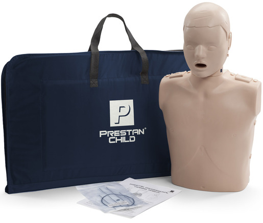 Prestan<sup>&reg;</sup> Professional Child CPR Training Manikin without CPR Monitor, Medium Skin, Single Manikin