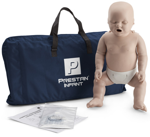 Prestan<sup>&reg;</sup> Professional Infant CPR Training Manikin without CPR Monitor, Meduim Skin, Single Manikin