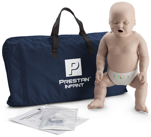 Prestan<sup>®</sup> Professional Infant CPR Training Manikin with CPR Monitor, Medium Skin, Single Manikin