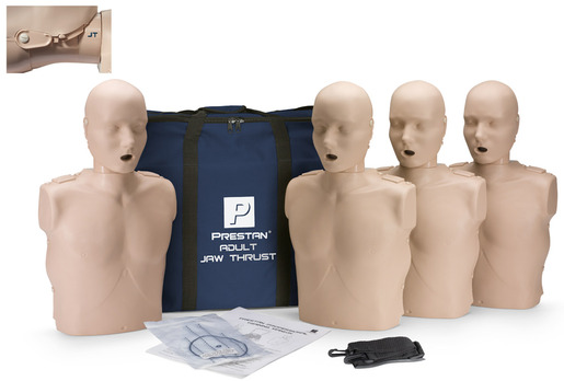 Prestan<sup>®</sup> Professional Adult Jaw Thrust CPR Training Manikin without CPR Monitor, Medium Skin