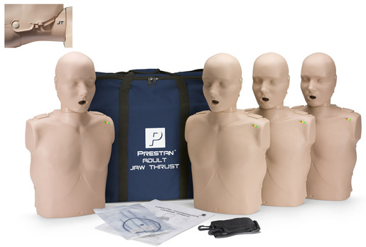 Prestan<sup>®</sup> Professional Adult Jaw Thrust CPR Training Manikin with CPR Monitor