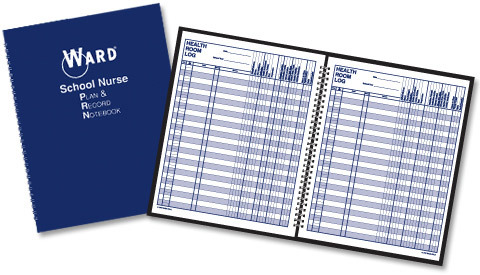 Ward School Nurse Plan and Record Notebook