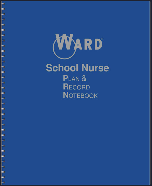Ward School Nurse Plan and Record Notebook