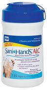 PDI Sani-Hands<sup>&reg;</sup> Instant Hand Sanitizing Wipes, 135/tub