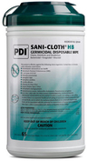 "Sani-Cloth Hepatitis B Germicidal Wipes, X-Large, 8"" x 14"", 65/tub"