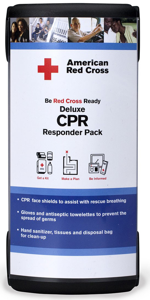 First Aid Only<sup>®</sup> Red Cross Deluxe CPR Responder Pack
