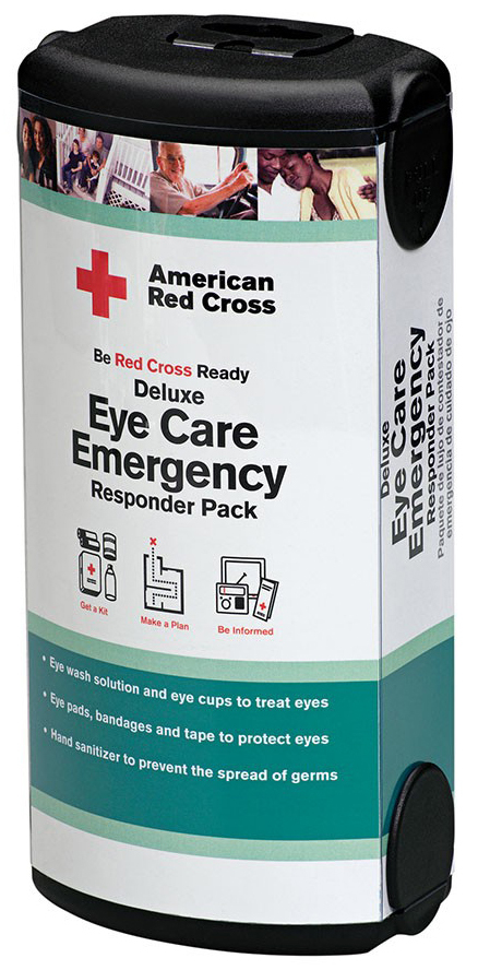 First Aid Only<sup>®</sup> American Red Cross Deluxe Eye Care Emergency Responder Pack