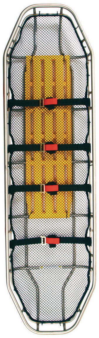 Ferno<sup>®</sup> Titan Basket Stretcher, 1-piece, Stainless Steel, Regular