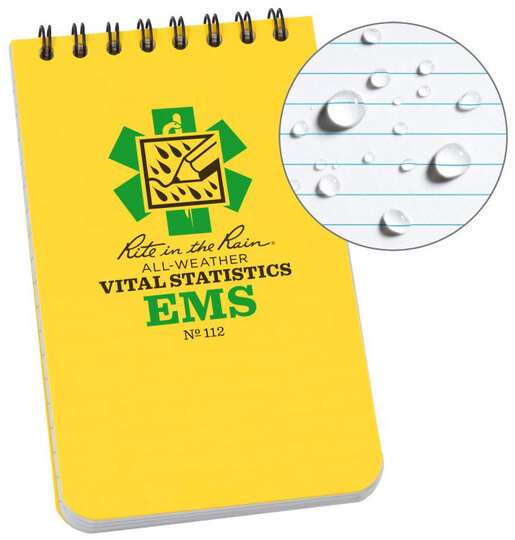 Rite in the Rain<sup>&reg;</sup> EMS Vital Stats Notebook