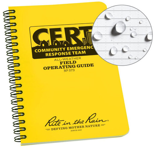 Rite in the Rain<sup>®</sup> Community Emergency Response Team (CERT) Field Operating Guide