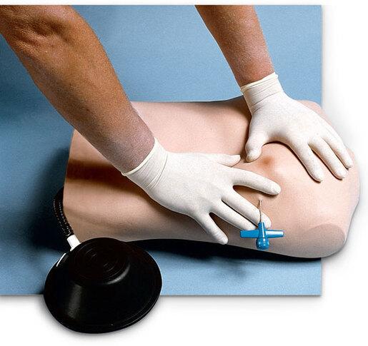 Simulaids Pneumothorax Trainer, Replacement Pleural Cavity