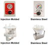 SSCOR SSCOR/Board Canister, Plastic Holder