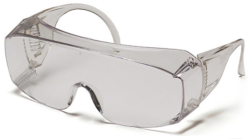 Pyramex<sup>®</sup> Solo Safety Glasses to Wear Over Prescription Glasses